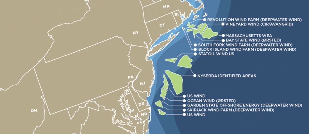 Map Of Us Offshore Wind Farms Now Available Power Cables Newsfeed - Map-of-us-wind-farms