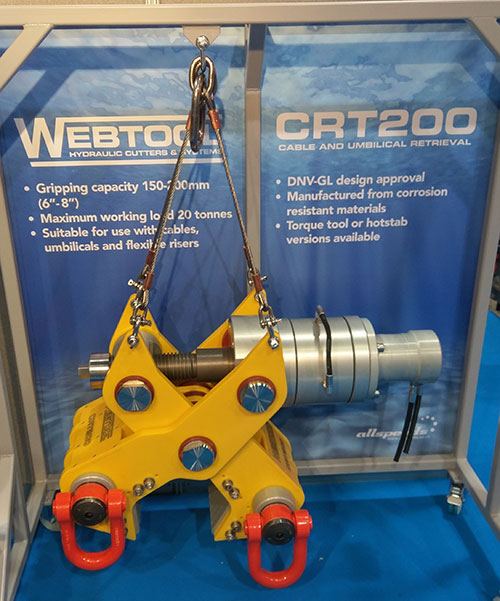 Webtool cable gripper on stand hi res