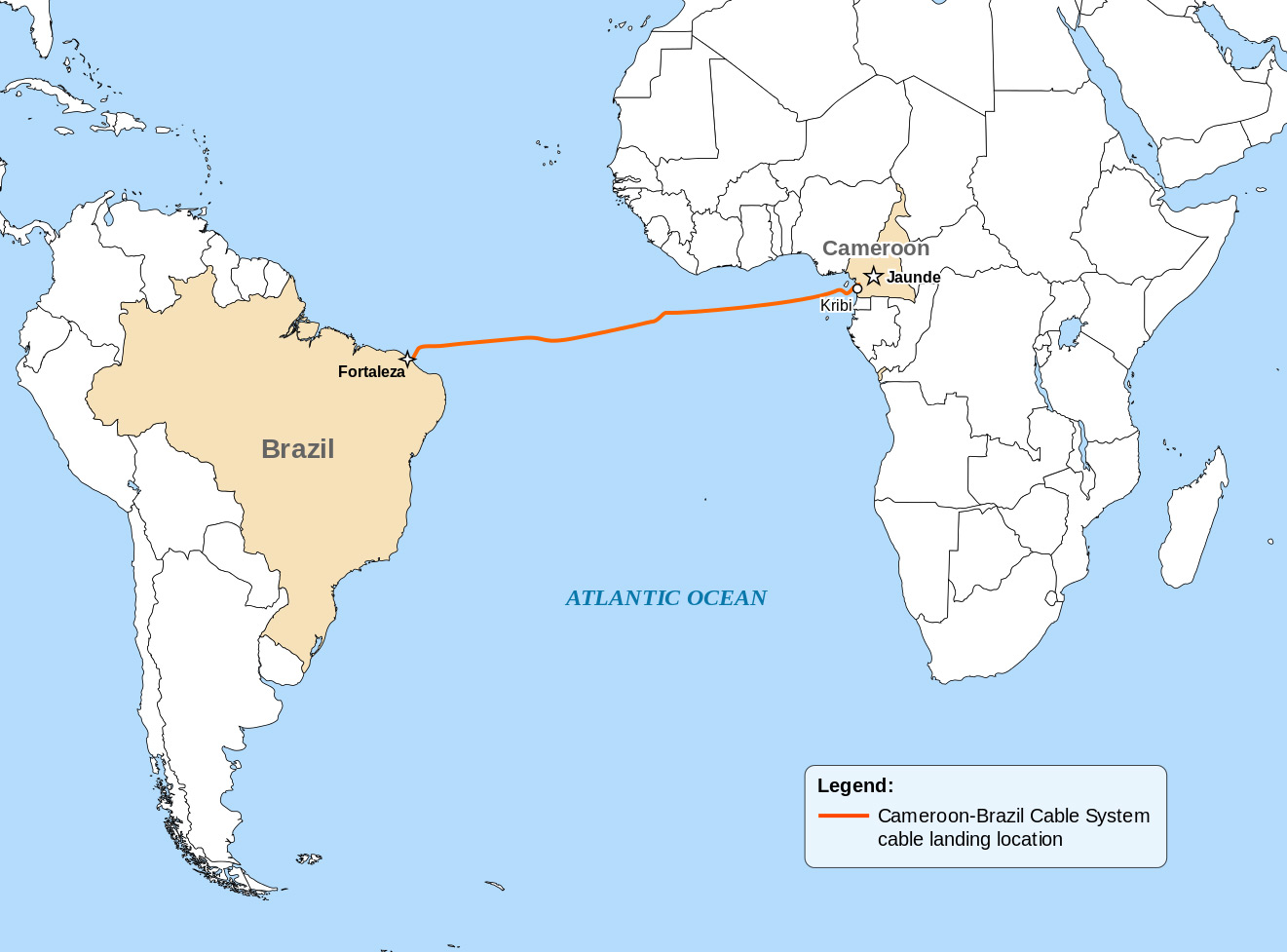 Installation of Cameroon-Brazil Cable System Begins | Fiber Optic ...
